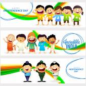 Character set for Indian Independence Day.