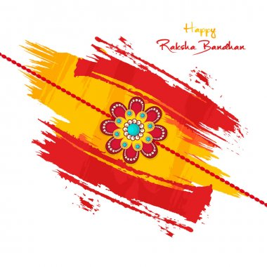 Beautiful Rakhi for Raksha Bandhan celebration.