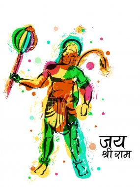 Lord Hanuman For Happy Dussehra celebration.