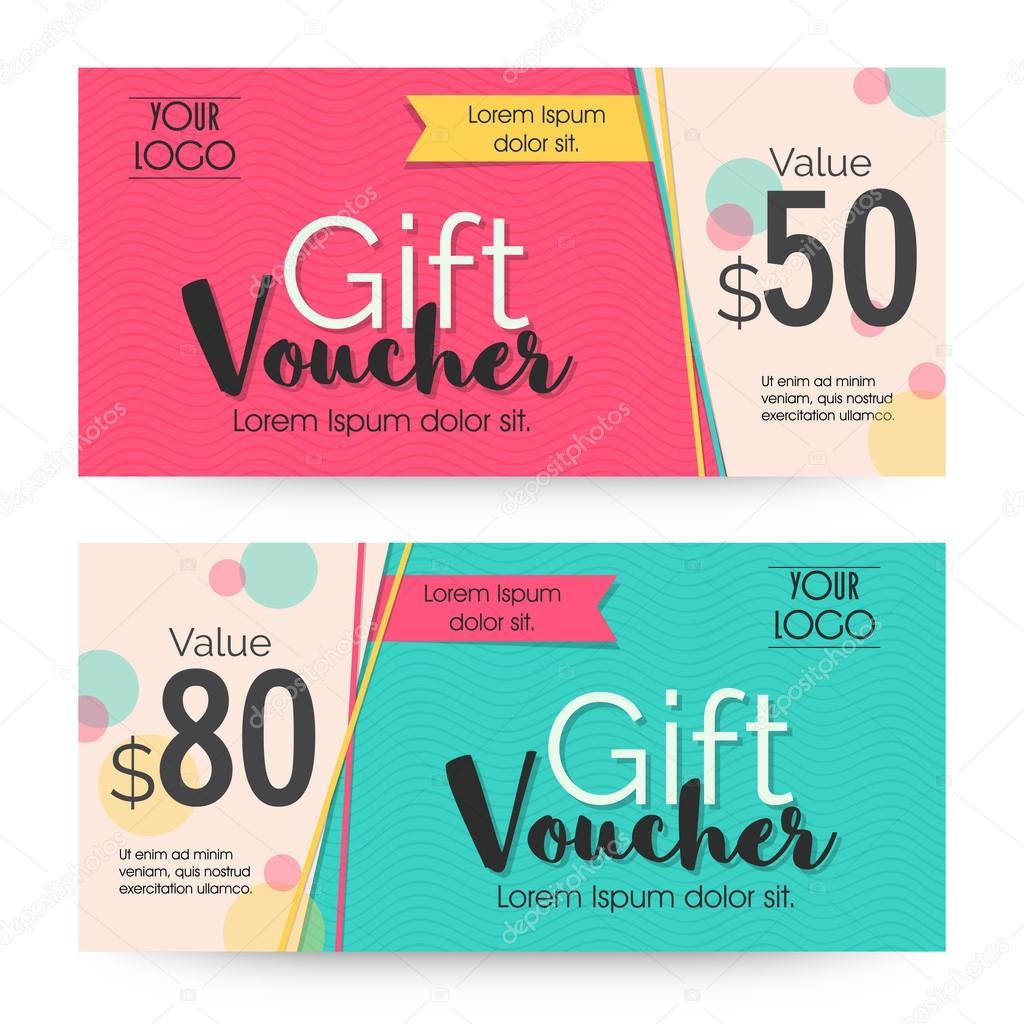 Creative gift voucher template design creative gift voucher or coupon template with clean and modern design alliesinteract negle Images