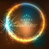 Fotografie Glückliches neues Jahr 2015 feiern