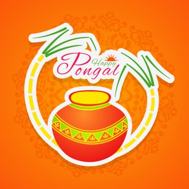 South Indian festival Happy Pongal celebrations.