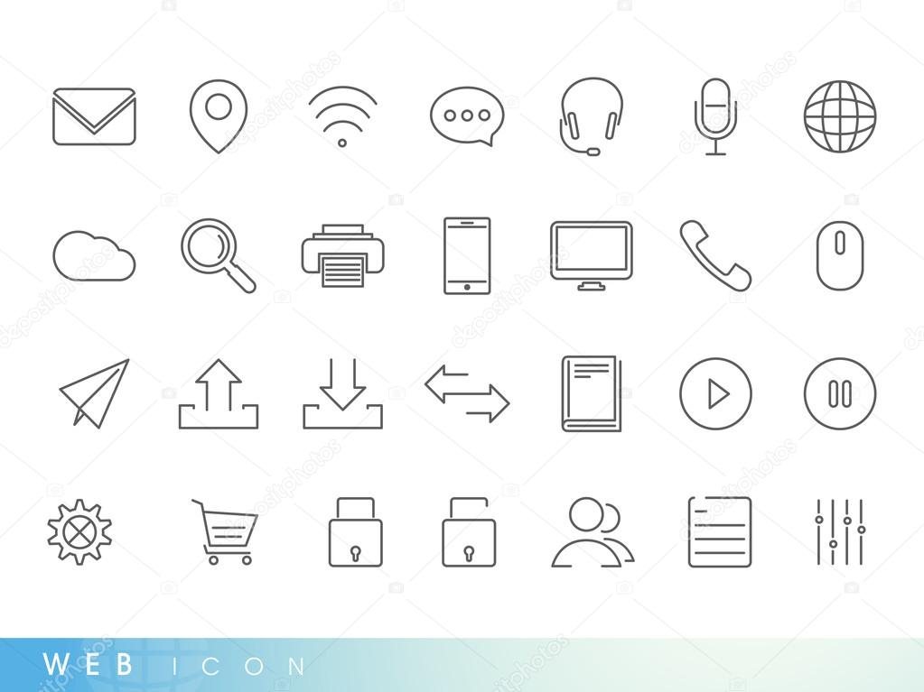 Web icons for your business.