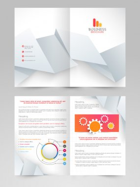 Professional business flyer or brochure design.