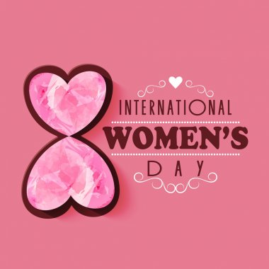 International Women's Day celebration concept.