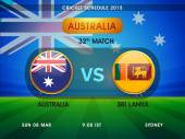 Australia vs Sri Lanka match schedule 2015.