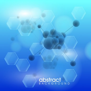 Abstract medical background.