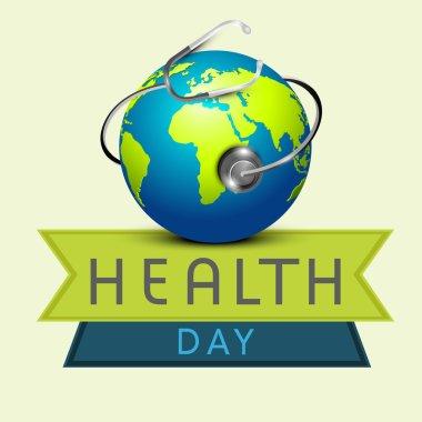 Shiny globe for World Health Day.