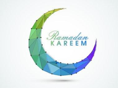 Ramadan Kareem celebration with creative text.