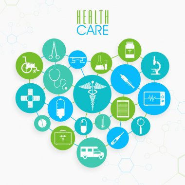 Set of Health Care elements.
