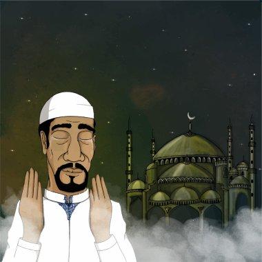 Happy Ramadan Kareem celebration.