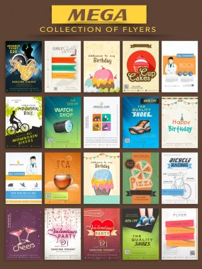 Mega collection of Flyers.