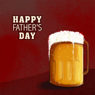Happy Father's Day celebration with beer.