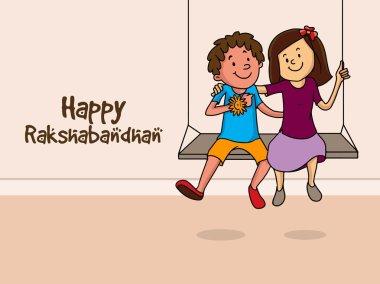 Cute kids for Raksha Bandhan celebration.