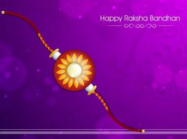Beautiful rakhi for Raksha Bandhan celebration.