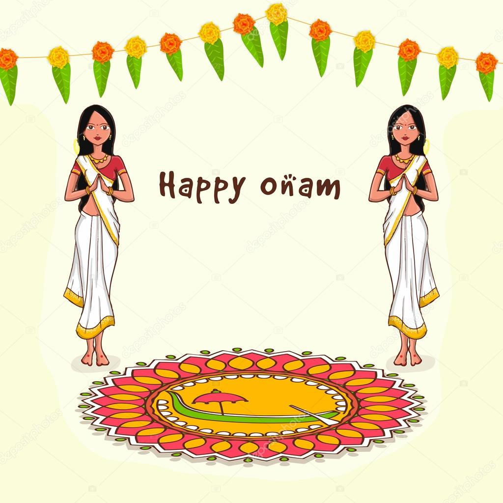 Indian Festival Decoration Onam Flower Vector Flowers Ideas
