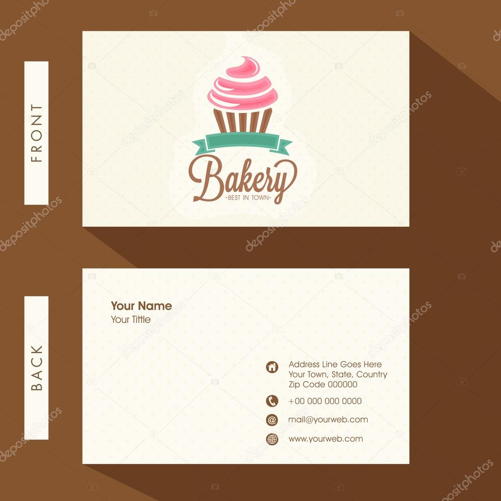 Business card for bakery vetores de stock alliesinteract 81594218 business card for bakery vetores de stock reheart Gallery