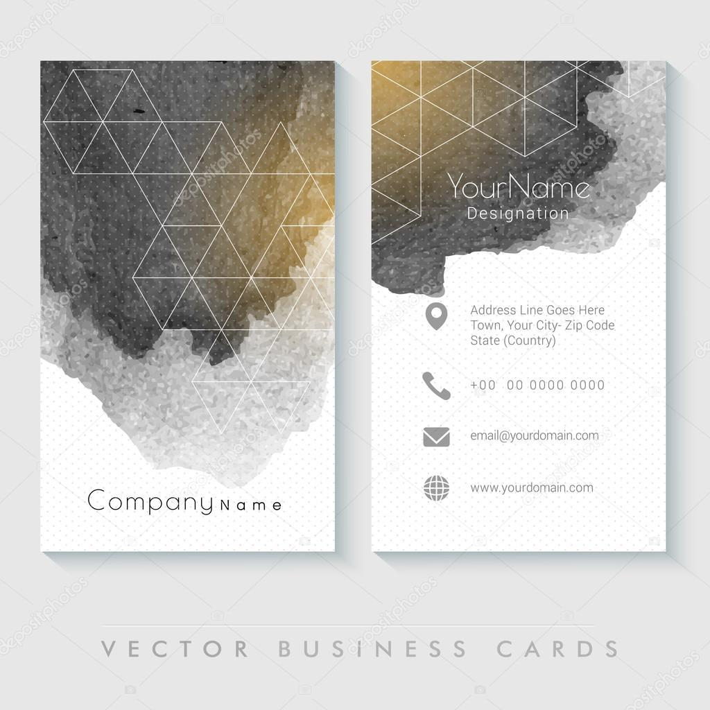 Professional vertical business card or visiting card set vetores professional vertical business card or visiting card set vetores de stock reheart Gallery
