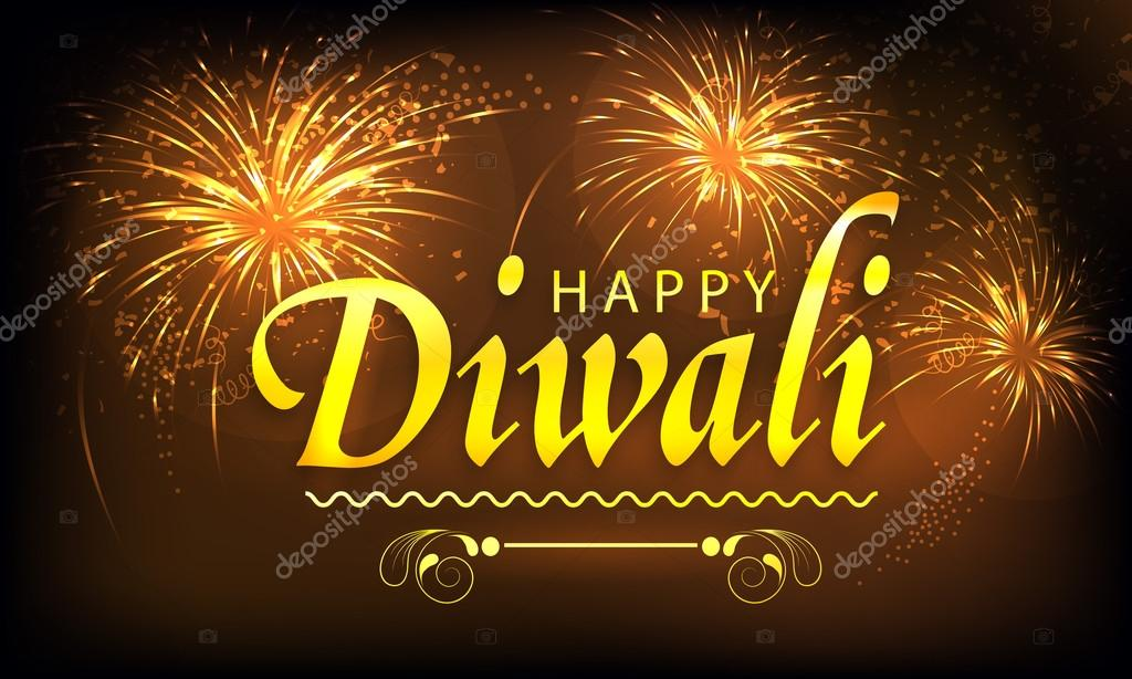 poster banner or flyer for happy diwali stock vector