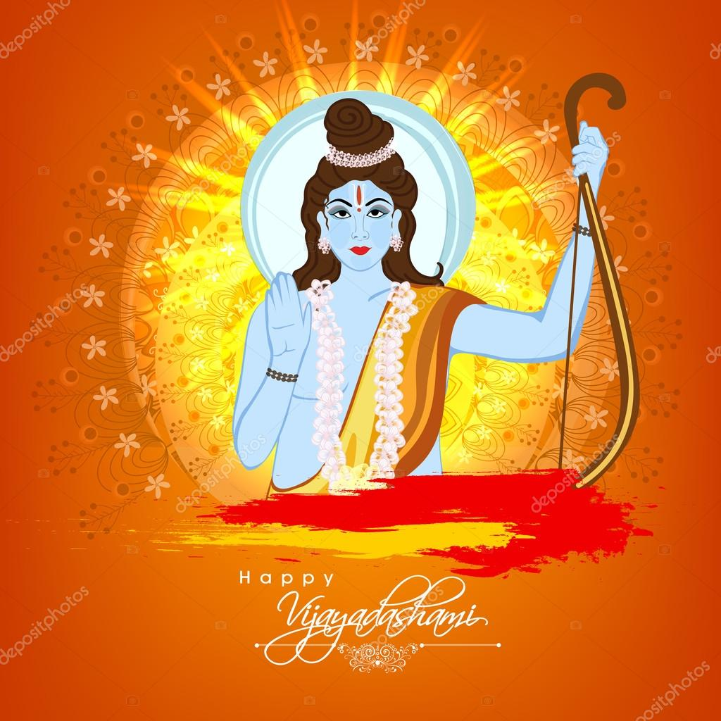 Lord Rama for Happy Vijayadashami celebration.