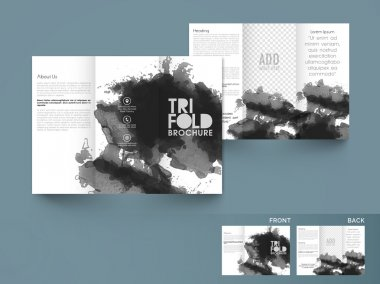 Stylish Business Trifold or Template.