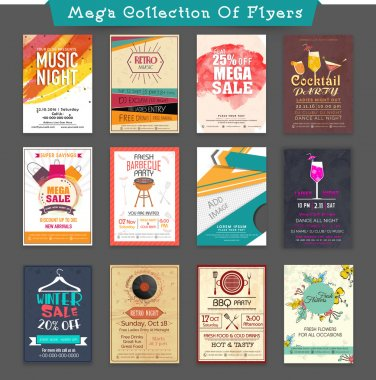 Mega Collections of creative Flyer.