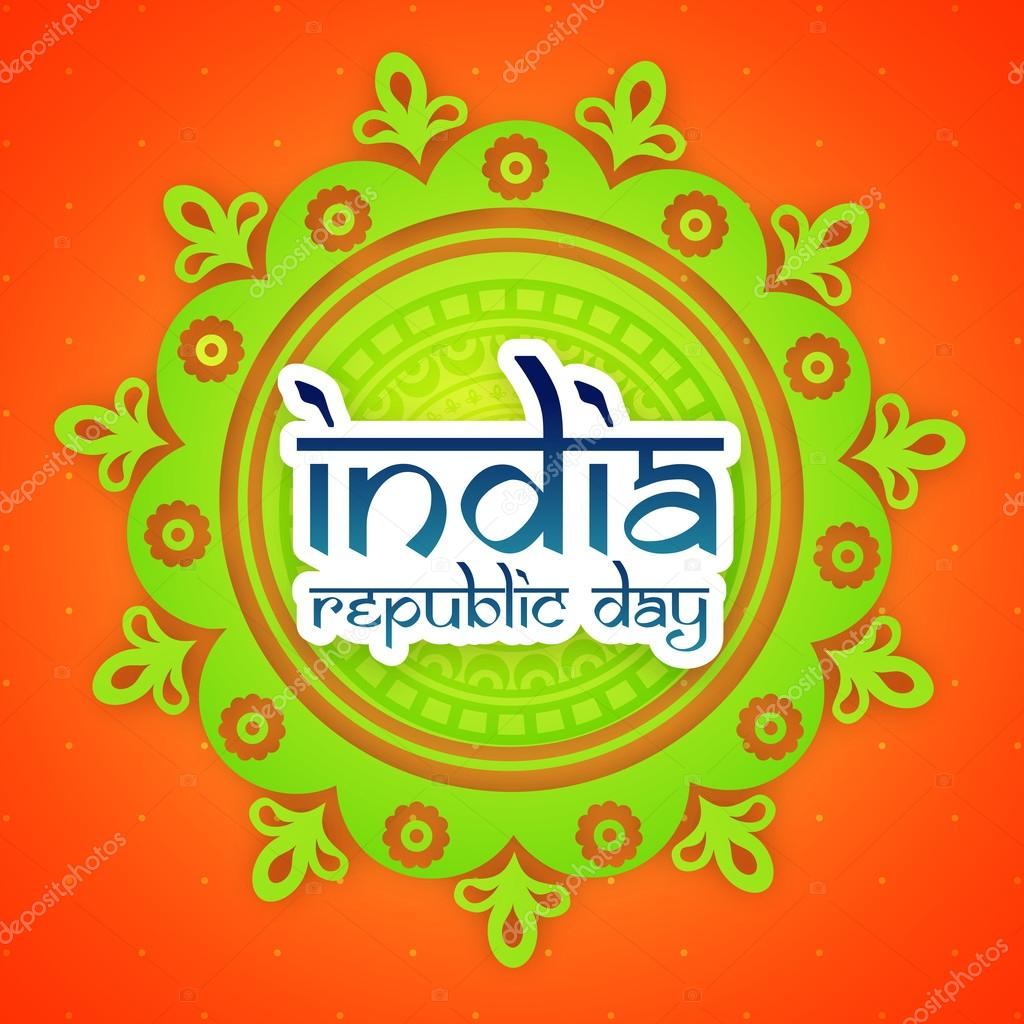 Greeting card for indian republic day celebration stock vector greeting card for indian republic day celebration stock vector m4hsunfo