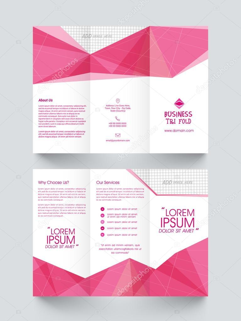 Mage Brochure | Trifold Broschure Vorlage Oder Flyer Fur Unternehmen Stockvektor