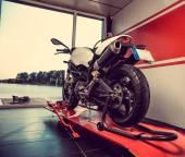 Fotografie Nové sportovní motorka