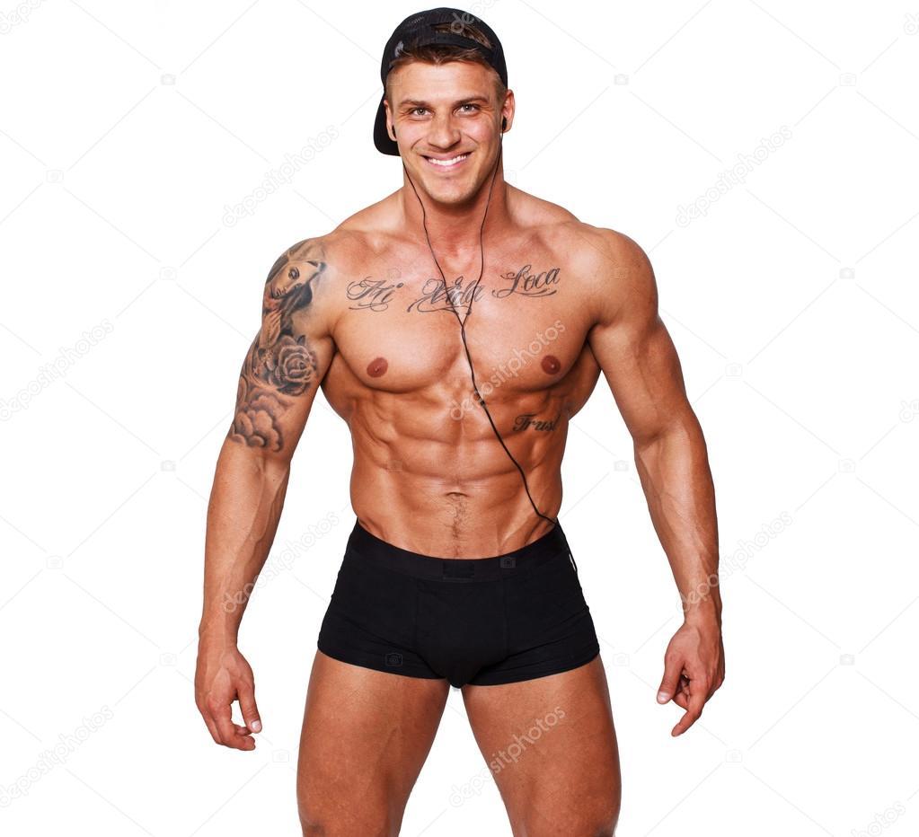 ROSLYN: Hott black guy full body