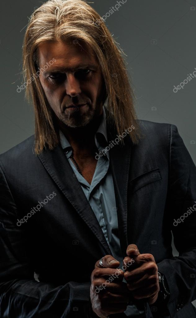 lange haare als mann