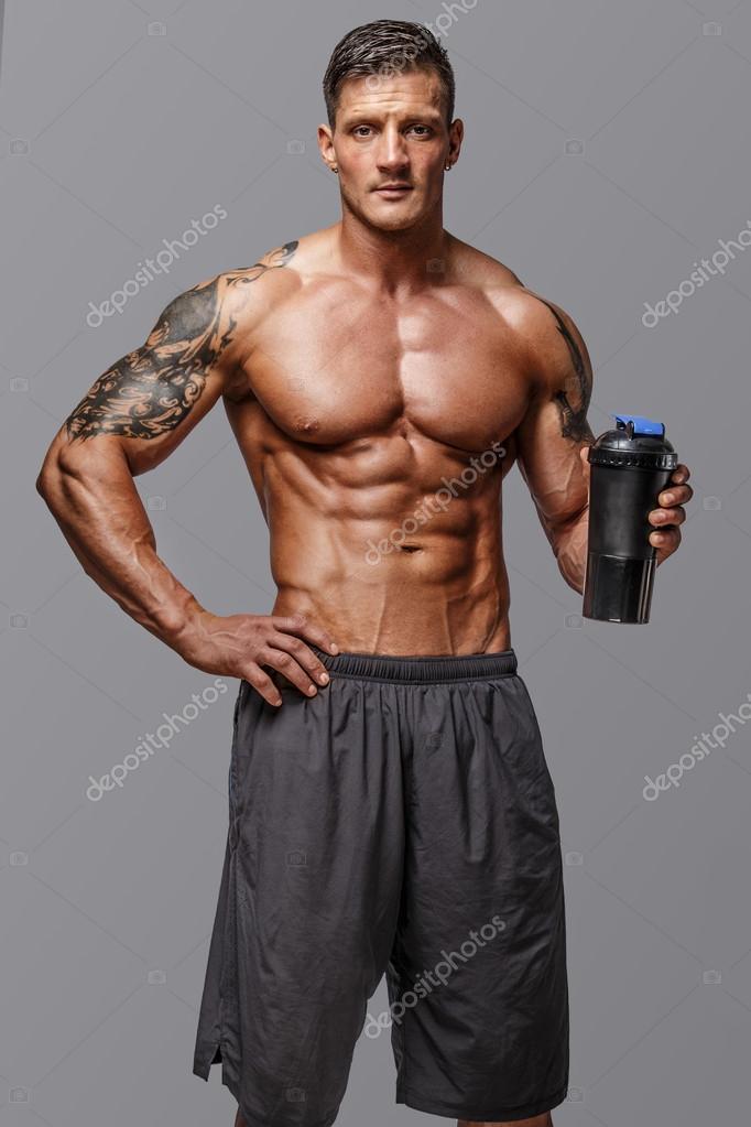 Männchen mit großen Körper Anatomie — Stockfoto © fxquadro #69751631