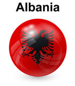 albania official state flag