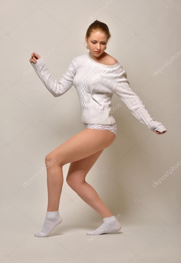 Dancing In White Panties