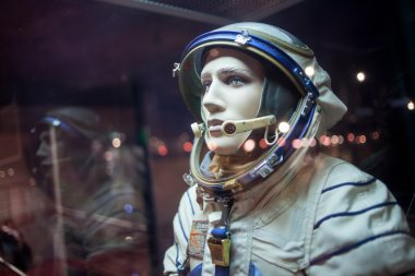 cosmonaut dummy in the suit,  Museum of cosmonautics