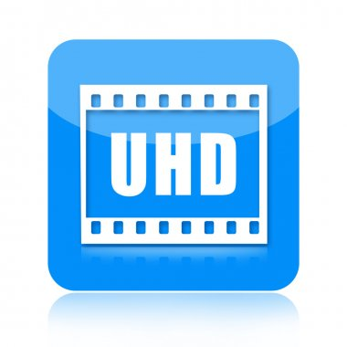Uhd video icon