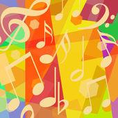 abstrakte Musikuntermalung