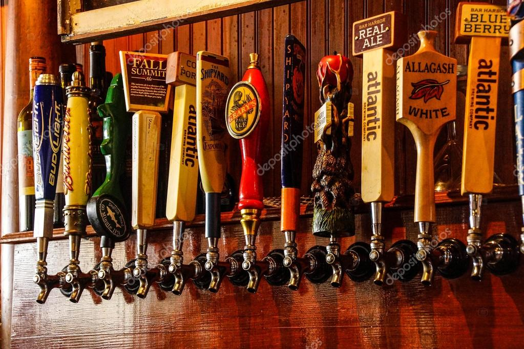Local microwbrew taps