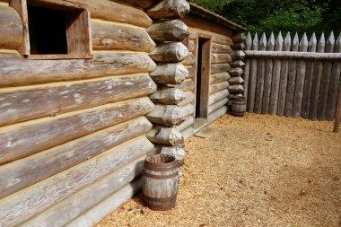 stockade fence of Fort Clatsop
