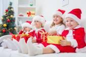 Fotografie Vtipné vánoční děti