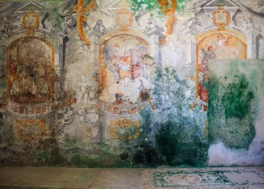 Frescoes of Carmine church
