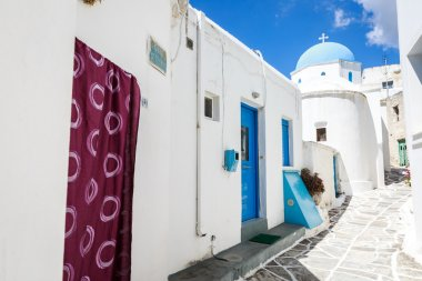 Lefkes church in Paros, Greece