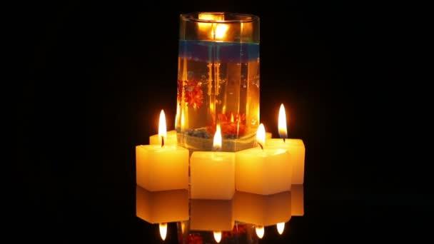 decorative candles grind slow
