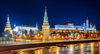 Moscow Kremlin. Russia