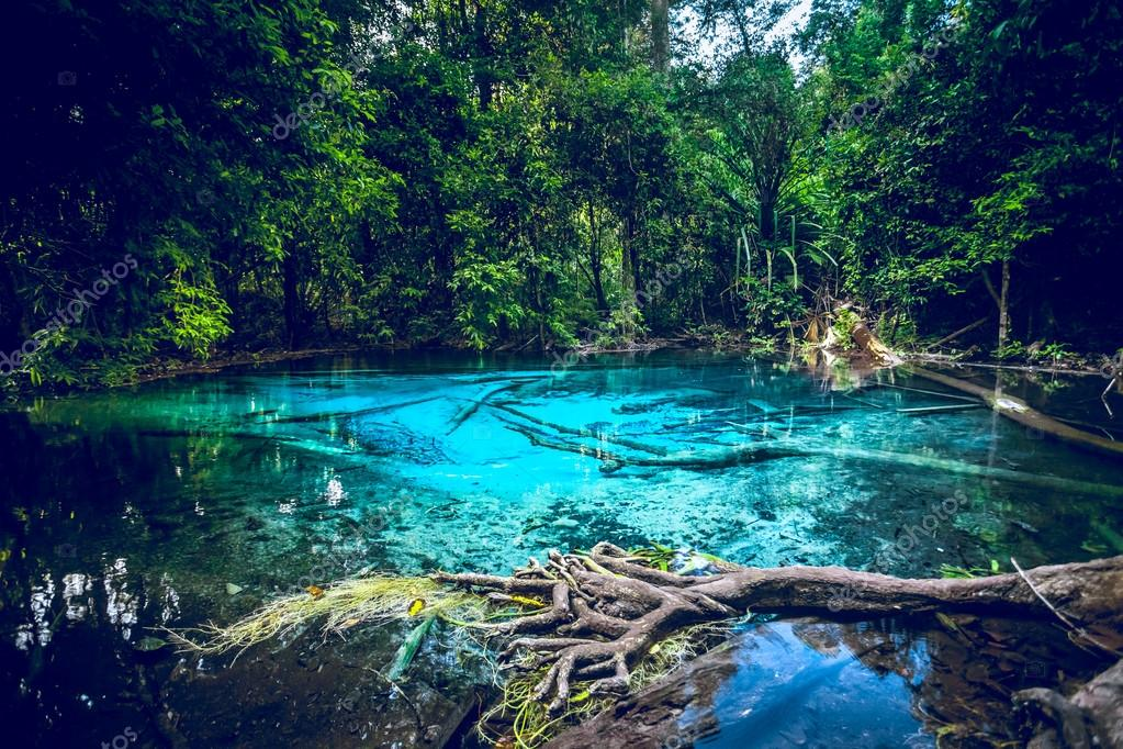 Emerald blue Pool