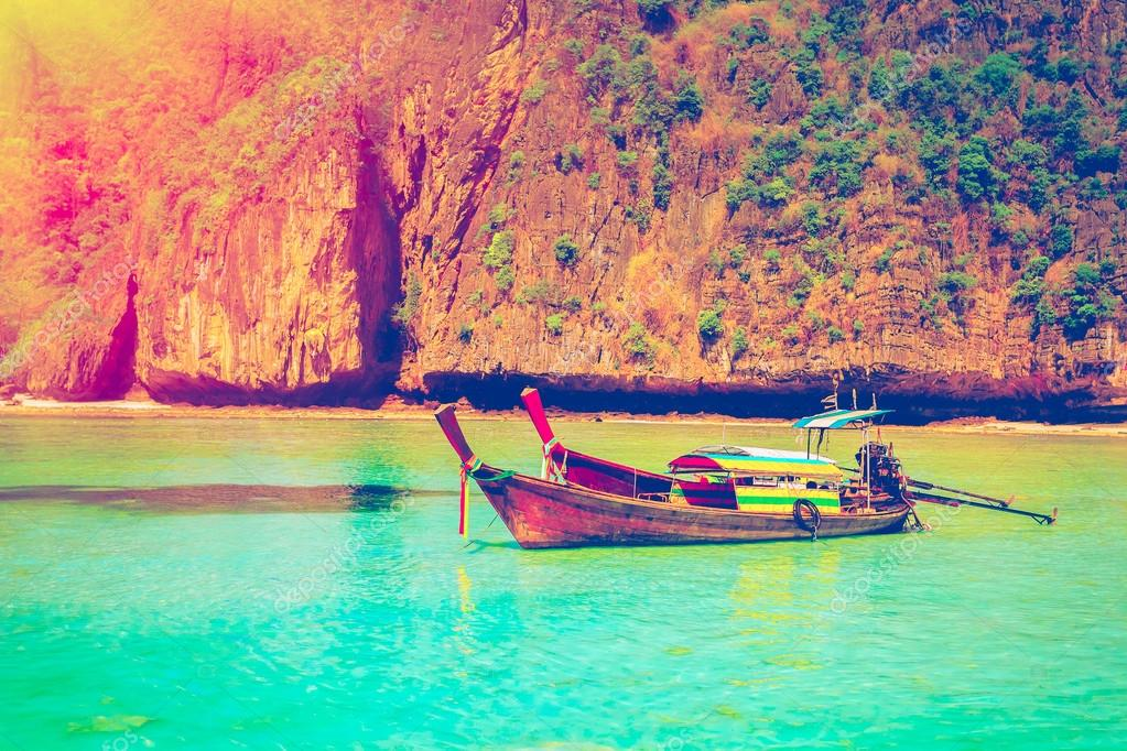 Travel to the paradise island