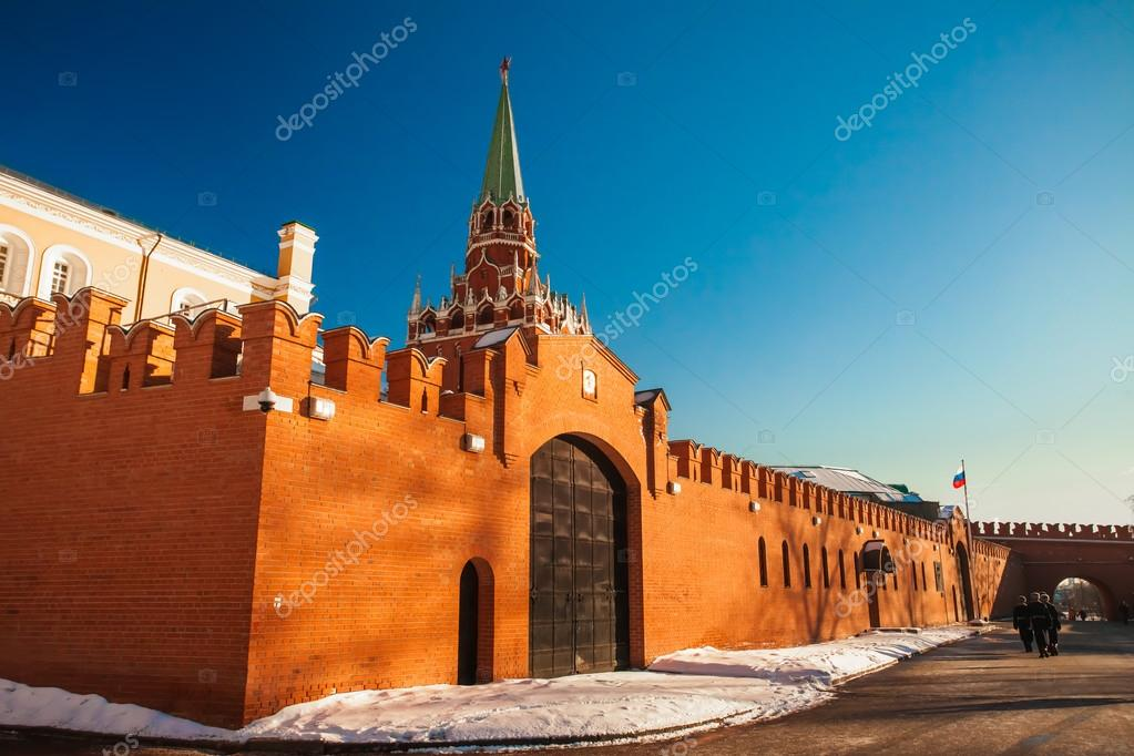 Red Square in winter