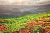 Fotografie Gebirge im Sommer
