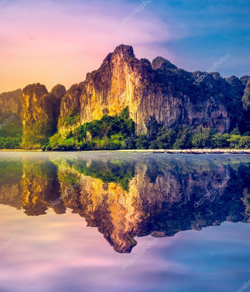 Amazing travel background