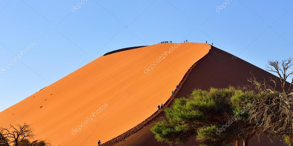 Sossusvlei Namibia Dune 45 Stock Editorial Photo